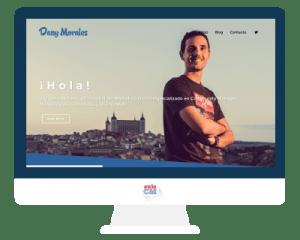 pagina web - Daniel Morales