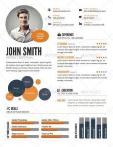 CV infográfico ok 300 231x300 35 plantillas de Curriculums creativos: ¡Destaca con tu CV!
