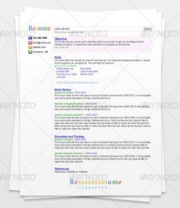 original mini 260x300 35 plantillas de Curriculums creativos: ¡Destaca con tu CV!