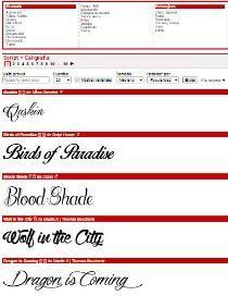 Script   Caligrafía   dafont.com