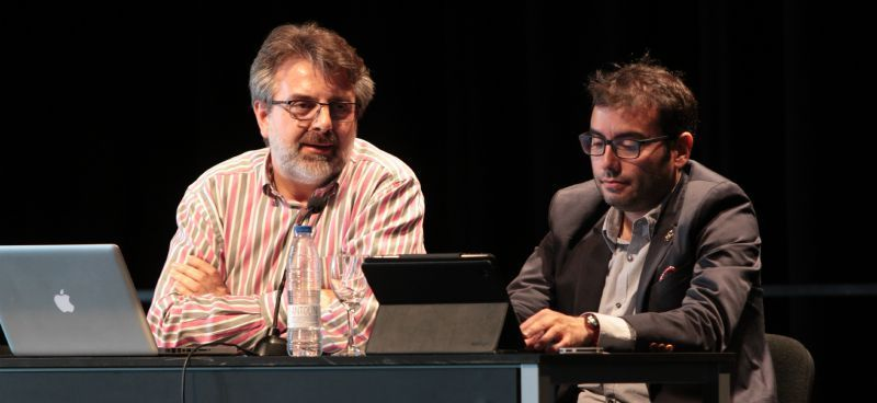 Fernando Maciá y Miguel Orense