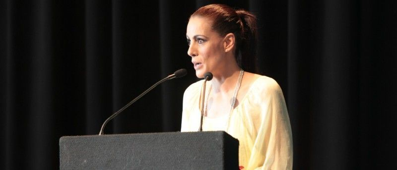 Alicia Senovilla 2ª Reunión de Agencias