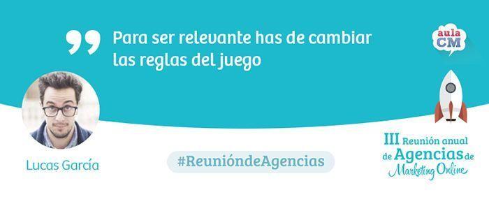 Lucas García Reunión de Agencias