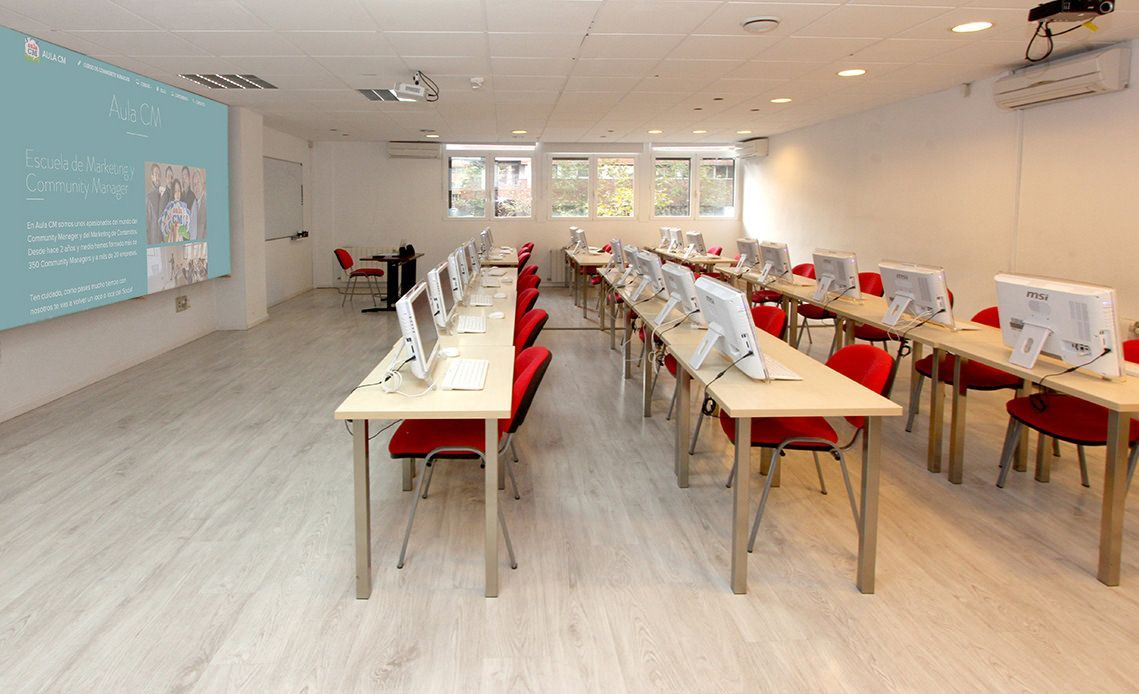 Alquiler de aulas en Madrid