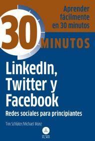 libro linkedin twitter y facebook