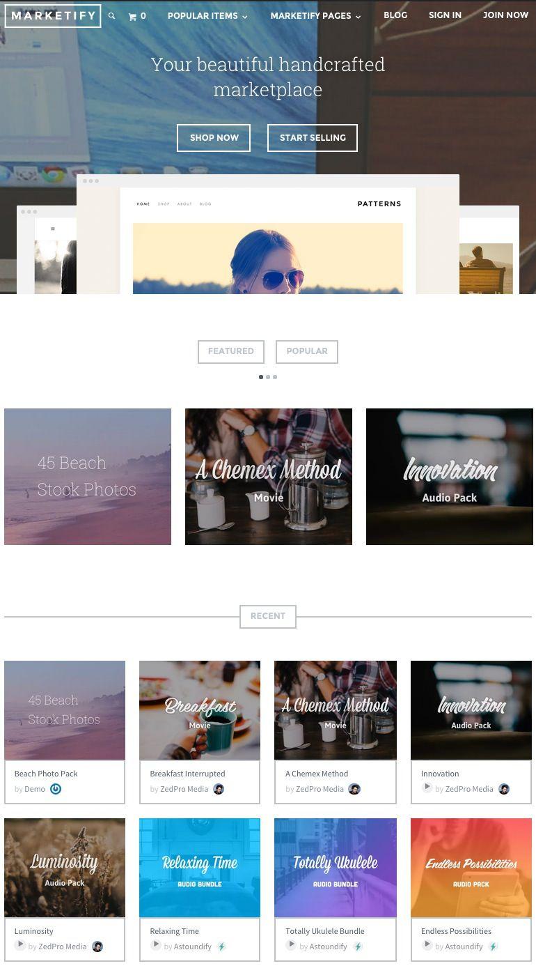 Las 20 mejores Plantillas para crear una Tienda Online y Ecommerce