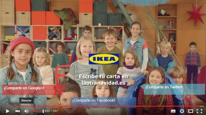 Vídeo La otra carta de Ikea