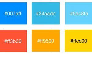 Colores hexadecimales