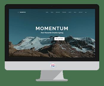 momentum plantilla joomla
