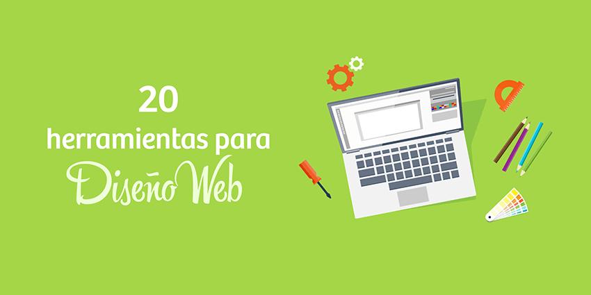 20 herramientas geniales para el diseño de páginas web y blogs