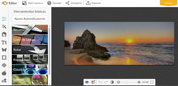 redimensionar imagenes con picmonkey