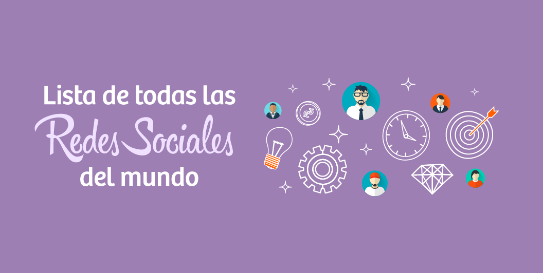dcc3e150fc837 Lista de TODAS las Redes Sociales del Mundo en 2019  +100